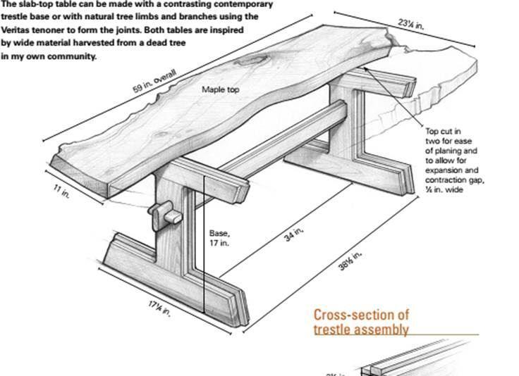 Сделать стол из досок своими руками чертежи и описание как сделать 59
