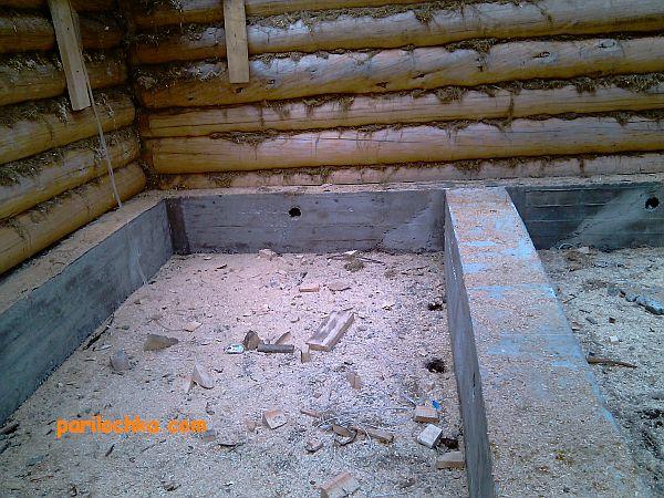 Выбираем ленточный фундамент для бани или можно обойтись вариантом подешевле Определяемся с выбором и заливаем