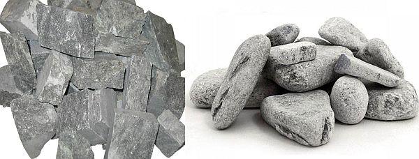 Какие камни надо в баню на каменку