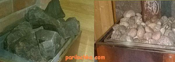 Замена камней в банной печи