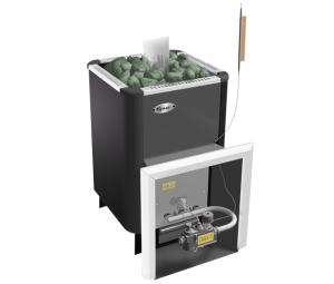 Банная печь на газу: газовые печки, печь на газу и дровах, установка каменки в сауне в доме
