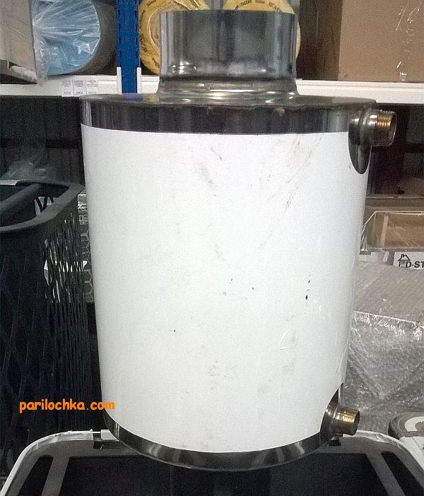 Установка бака на печь везувий