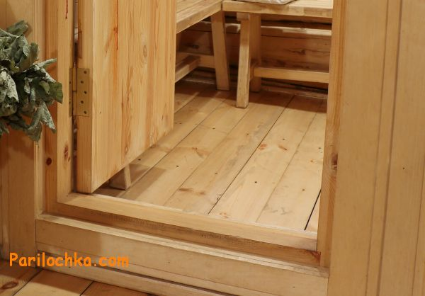 Размеры деревянных дверей с коробкой в баню