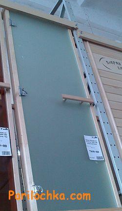 Регулировка стеклянной двери в сауну