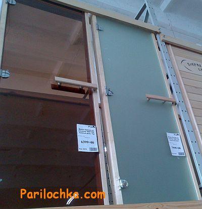 Двери для бани и сауны (входные и в парилку)