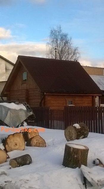 фото баньки зимой