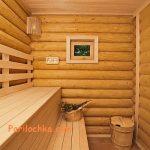Полок в бане, сделанный своими руками из дерева