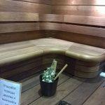 полки для бани на строительной выставке