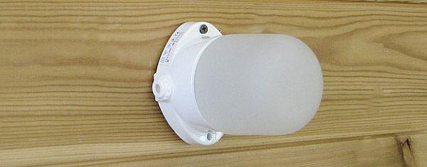 Светильник термостойкий для сауны Lindner