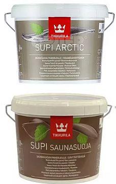 Supi Arctic и Supi Saunasuoja.