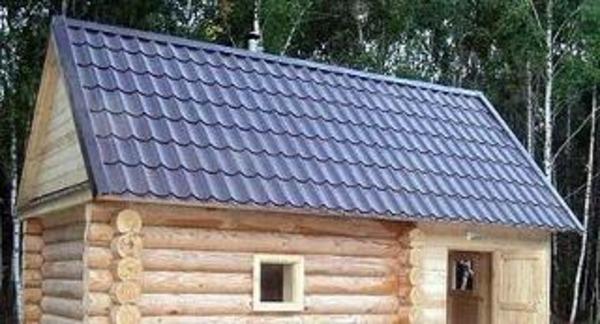 Монтаж крыши бани своими руками