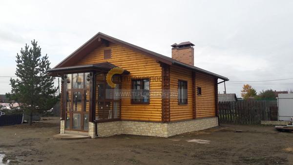 Строительство домов с баней под одной крышей