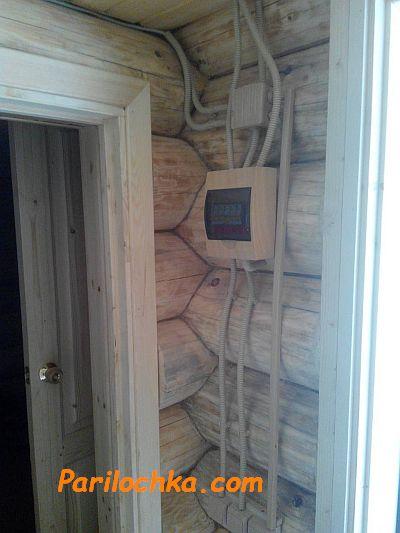 Дома из бревен большого диаметра