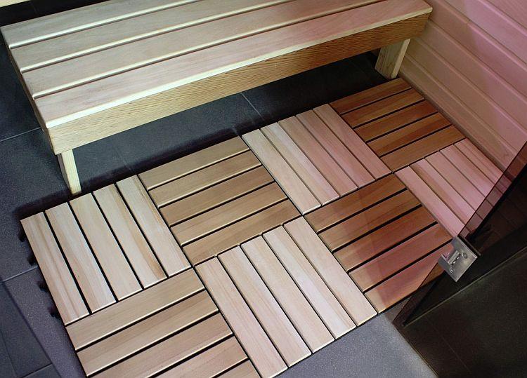 фото террасной доски для бани от компании terradream