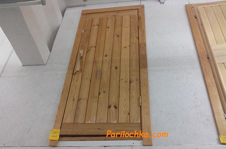 двери из сосны для бани в продаже